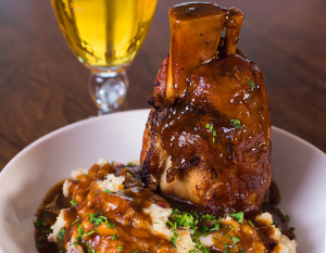 Danny's Italian Grill & Sports Bar's Osso Bucco. Photography by Neal Bruns
